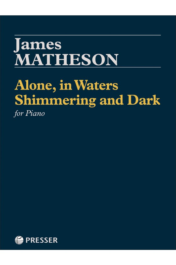 Alone, in Waters Shimmering and Dark