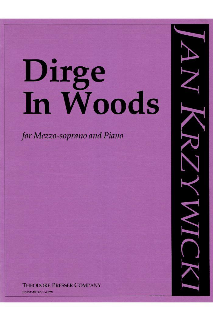 Dirge In Woods