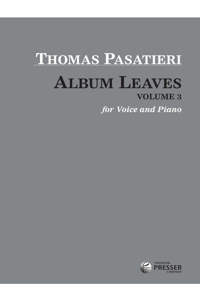 Album Leaves, Vol. 3
