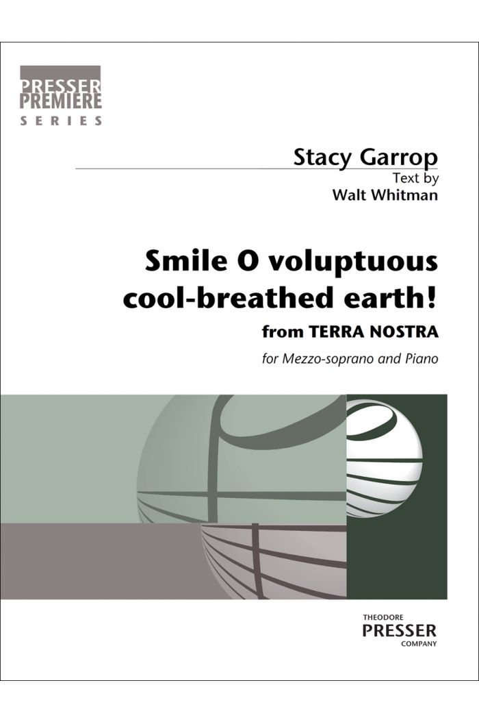 Smile O voluptuous cool-breathed earth!