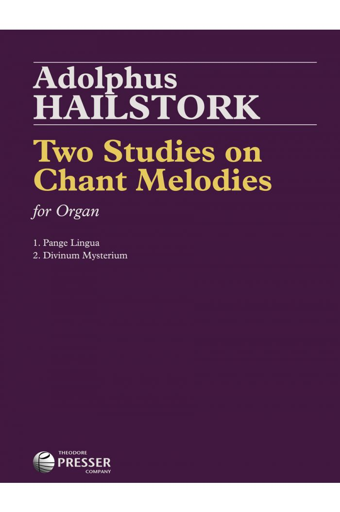 Two Studies On Chant Melodies