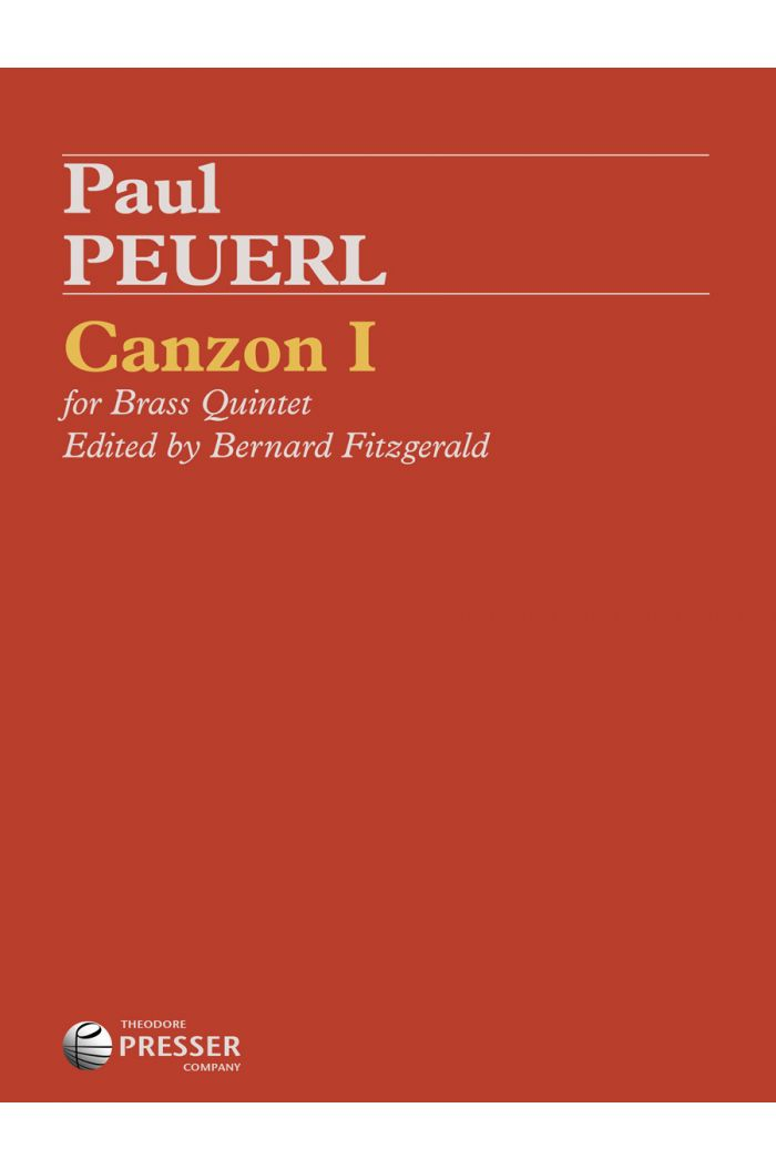 Canzon I