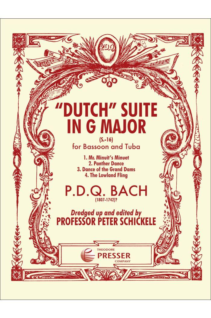 """""""Dutch"""" Suite In G Major"""