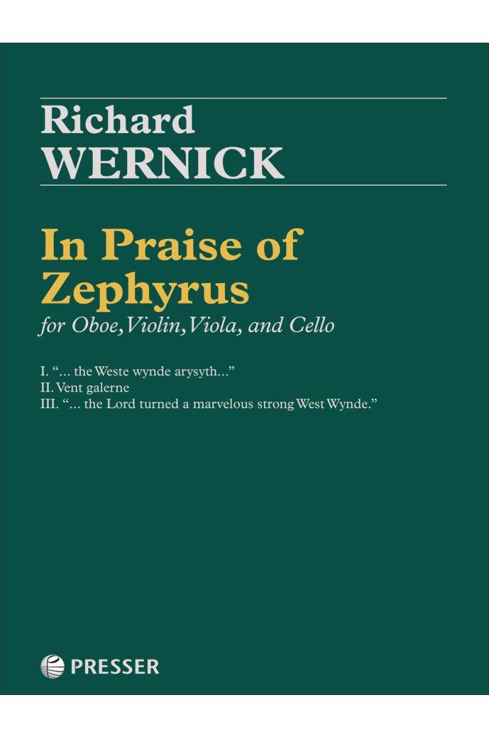 In Praise of Zephyrus