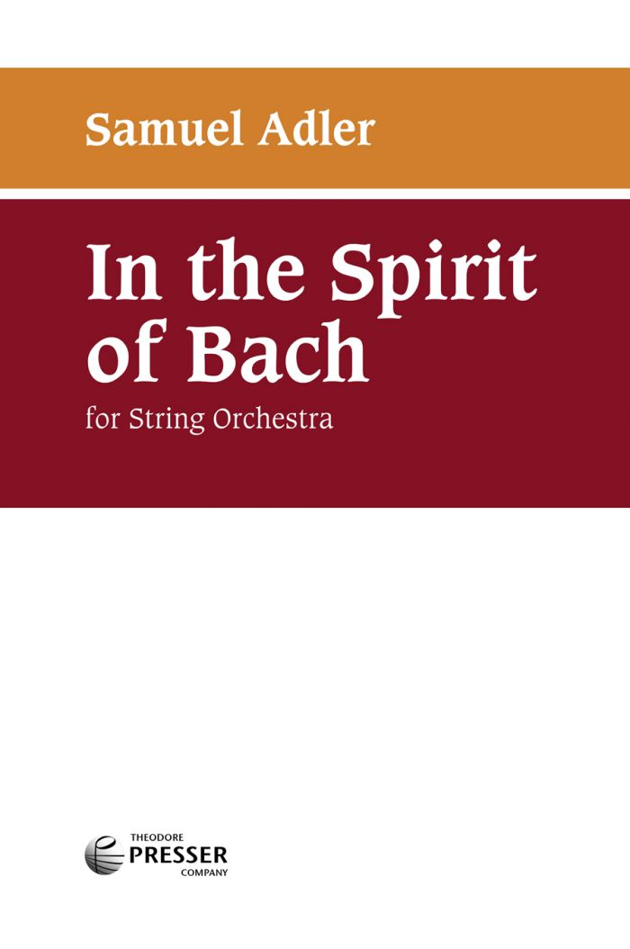 In The Spirit Of Bach
