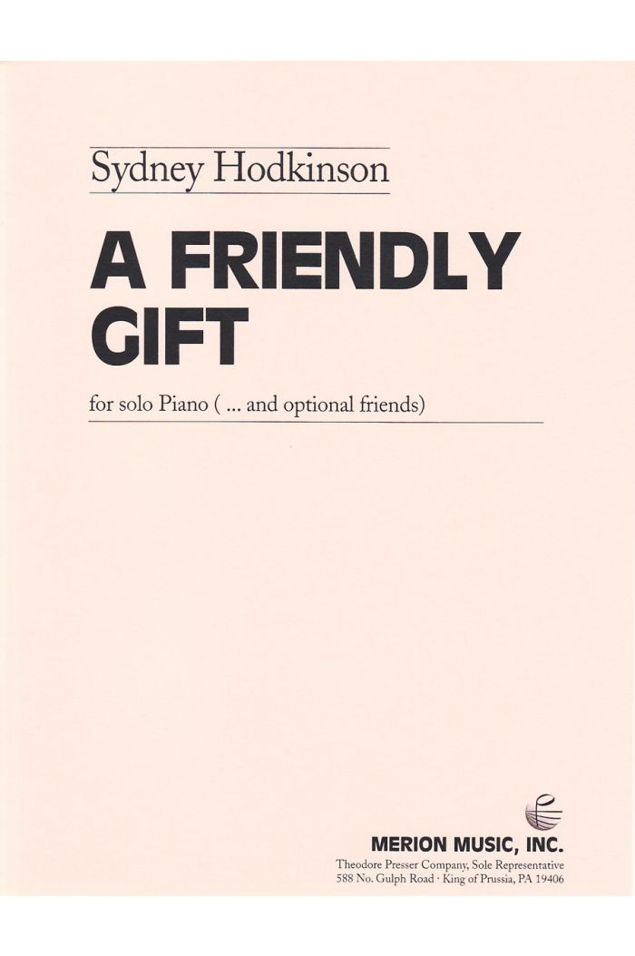 A Friendly Gift