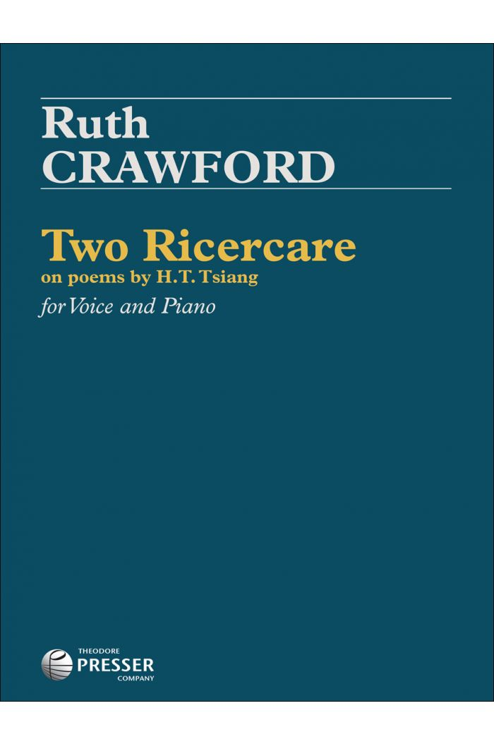 Two Ricercare on poems by H.T. Tsiang