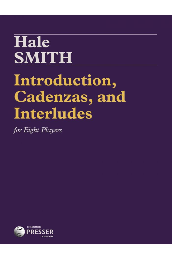 Introduction, Cadenzas, and Interlude for Eight Players