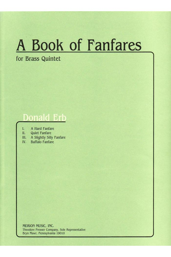 A Book Of Fanfares