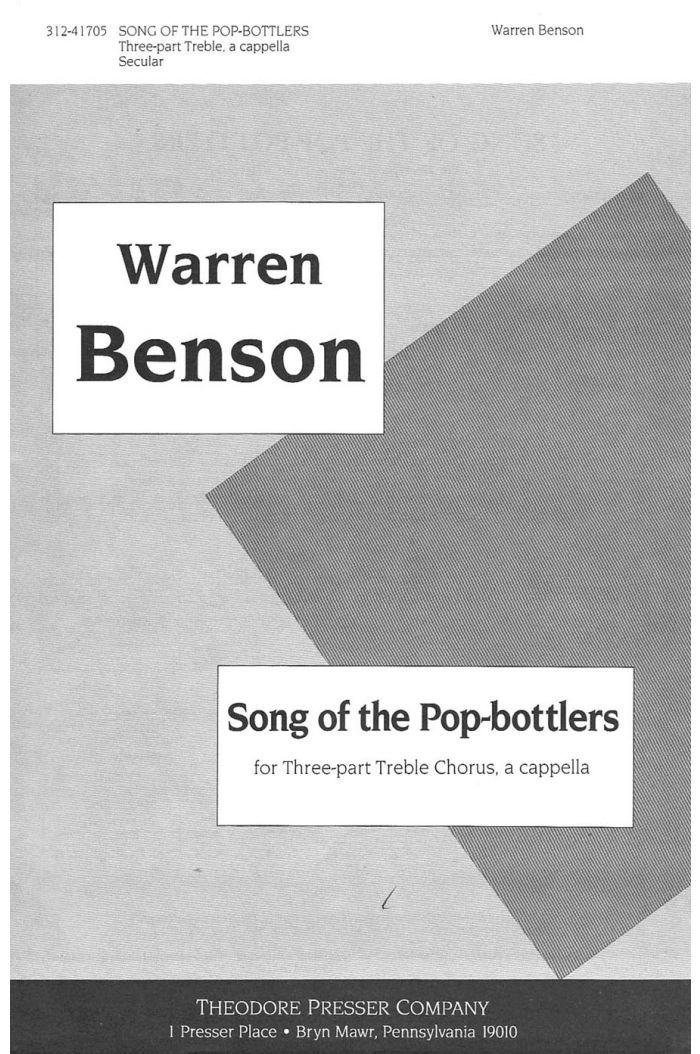 Song of the Pop-Bottlers