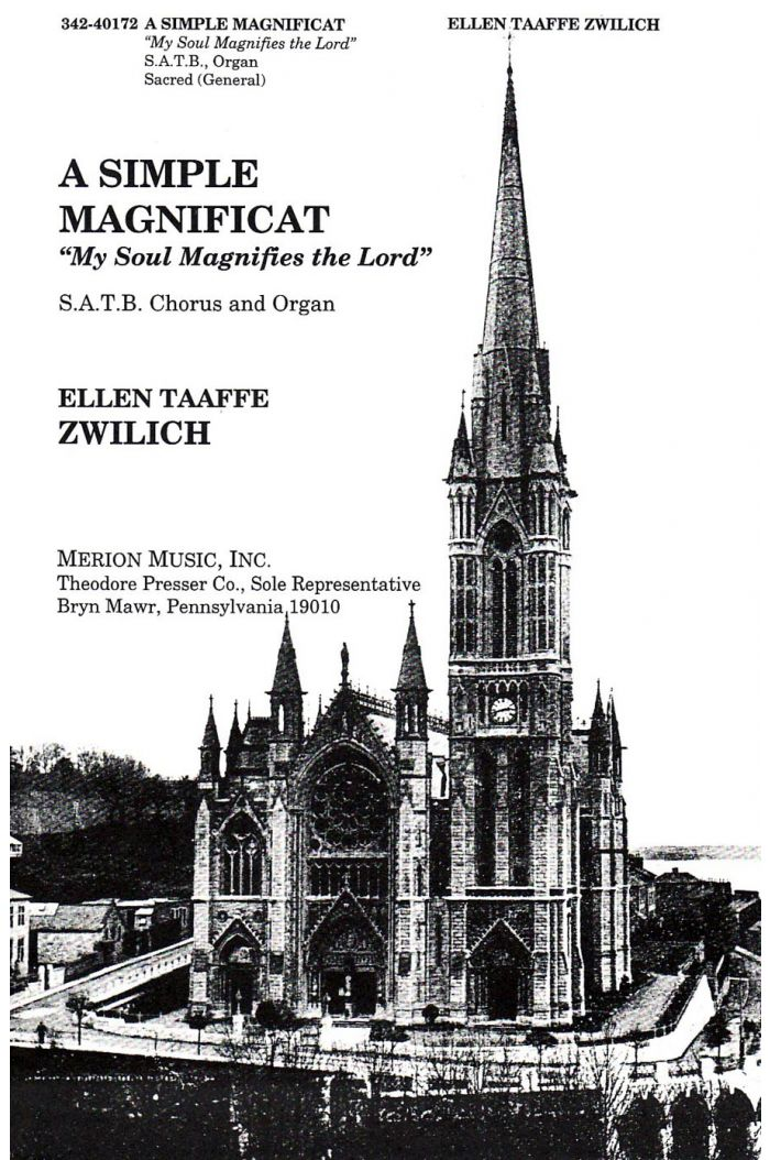"""A Simple Magnificat: """"My Soul Magnifies The Lord"""""""