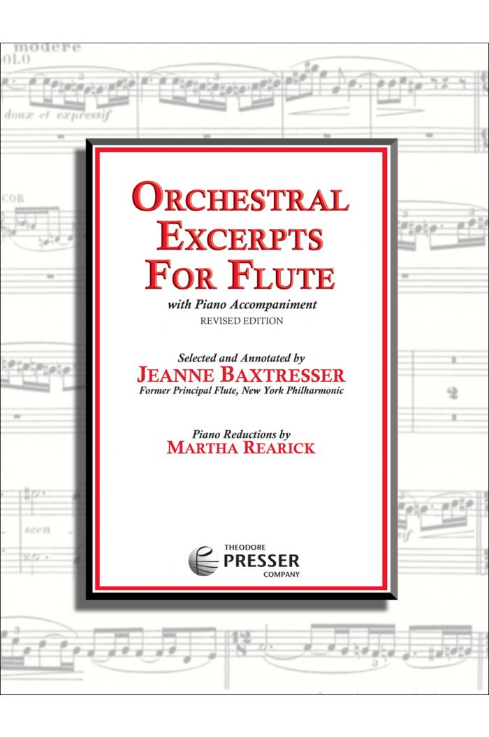 Orchestral Excerpts for Flute, Revised Edition
