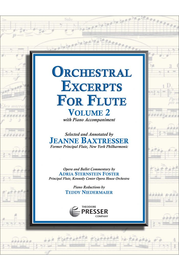 Orchestral Excerpts for Flute, Volume 2