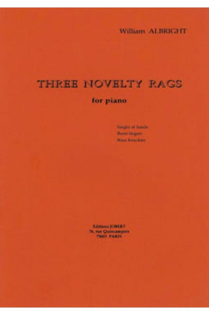 3 Novelty Rags
